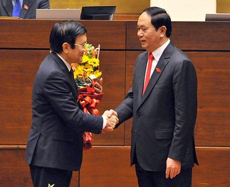 Chu tich nuoc hua lam het suc minh phung su To quoc, phuc vu Nhan dan - Anh 2
