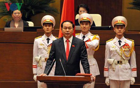 Bao chi quoc te dong loat dua tin ve tan Chu tich nuoc Tran Dai Quang - Anh 1