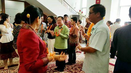 Tet Lao tai Jakarta: Tham dam tinh huu nghi Viet – Lao - Anh 1