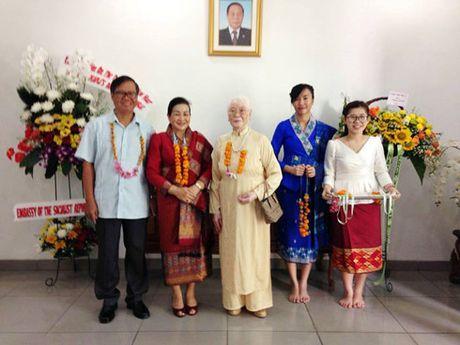 Tet Lao tai Jakarta: Tham dam tinh huu nghi Viet – Lao - Anh 2