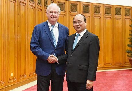 Thu tuong Nguyen Xuan Phuc tiep Giao su Dai hoc Harvard, Hoa Ky - Anh 1