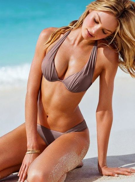 'Thien than noi y sexy nhat' mac bikini khoe bung bau - Anh 5