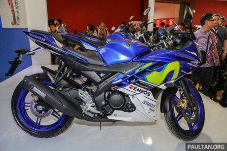 Yamaha R15 Movistar 2016 dam chat the thao xuat hien - Anh 2
