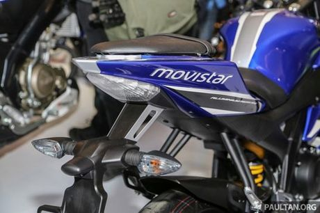 Yamaha R15 Movistar 2016 dam chat the thao xuat hien - Anh 4