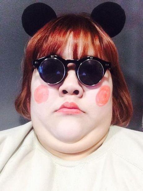 """""""Nguoi dep ngan can"""" gay sot mang vi xinh nhu bup be - Anh 9"""