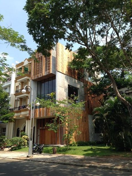 Nha Thong House o TP HCM an tuong tren bao My - Anh 1
