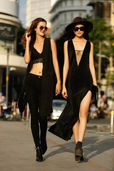 Dan chan dai Next Top Model gay nao loan voi street style - Anh 6