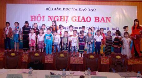 Kon Tum dat chuan pho cap GDMN cho tre 5 tuoi - Anh 1