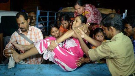 Dong dat 6,9 do richte rung chuyen Myanmar, An Do va Nepal - Anh 2