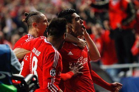 Benfica no luc nhung khong du de can buoc Bayern - Anh 1