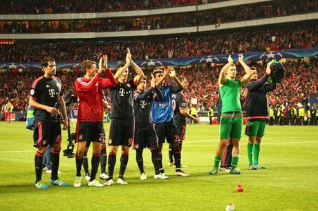 Benfica no luc nhung khong du de can buoc Bayern - Anh 2