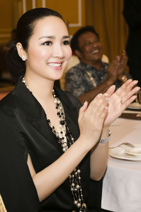 Hoa hau den Hung Giang My goi cam voi hang hieu 'sang chanh' - Anh 4