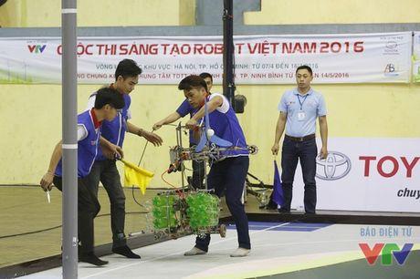 Vong loai 2 Robocon phia Bac: WAI 1 tiep tuc dai thang voi 3 Chai-Yo! - Anh 17