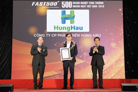 HungHau Holdings thuoc Top FAST 500 - Anh 1