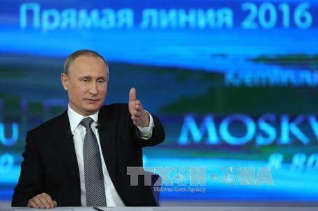 Tong thong Putin tra loi 80 cau hoi trong giao luu truc tuyen - Anh 1