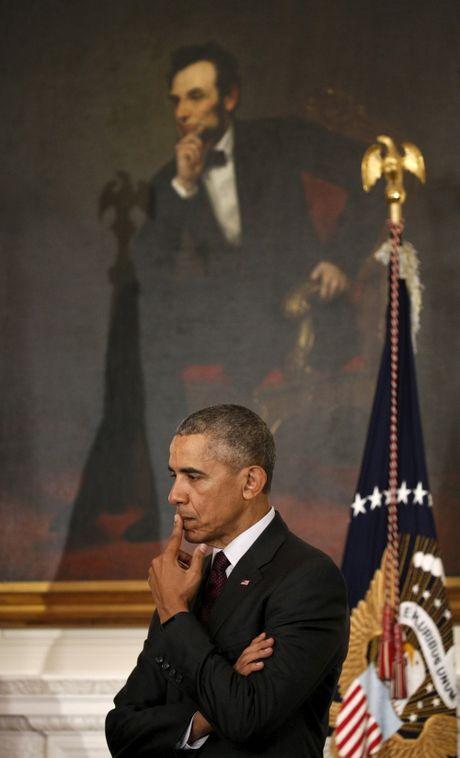 Trieu Tien muon loi Abraham Lincoln gui thu khuyen nhu Obama - Anh 1