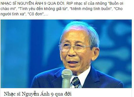 Nguyen Anh 9 qua doi: Viet Nam vua mat di mot thien tai am nhac! - Anh 2