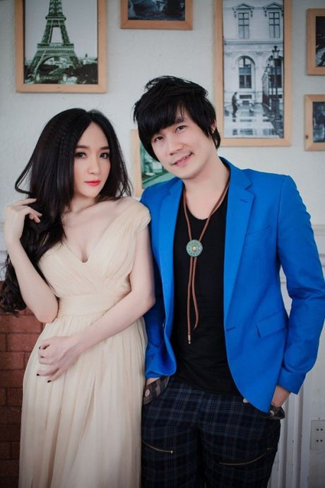 Dan Thuy len tieng ve chuyen tinh on ao voi Khanh Phuong - Anh 1