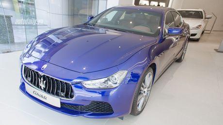 Hang hiem Maserati Ghibli Zegna gia hon 5 ty dong tai Viet Nam - Anh 1