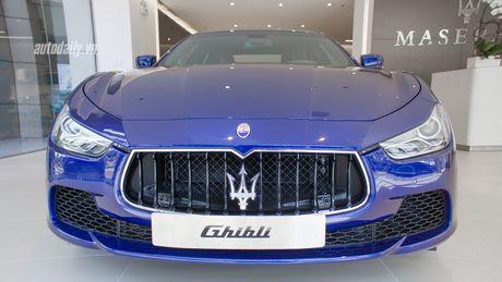 Hang hiem Maserati Ghibli Zegna gia hon 5 ty dong tai Viet Nam - Anh 2