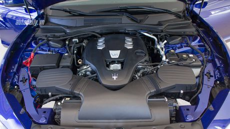 Hang hiem Maserati Ghibli Zegna gia hon 5 ty dong tai Viet Nam - Anh 5