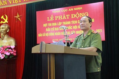 Tong cuc An ninh phat dong dot thi dua dac biet - Anh 2