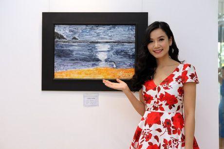 Dien vien Luong Giang: 'Megan Gallery la tam huyet hoi hoa cua toi' - Anh 1