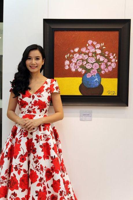 Dien vien Luong Giang: 'Megan Gallery la tam huyet hoi hoa cua toi' - Anh 2