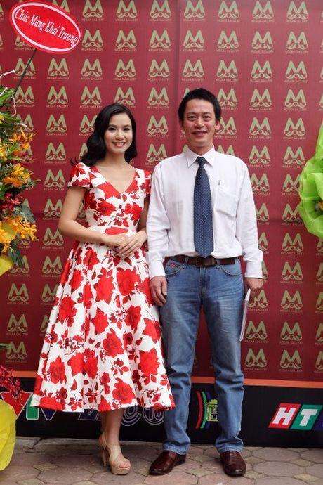 Dien vien Luong Giang: 'Megan Gallery la tam huyet hoi hoa cua toi' - Anh 7