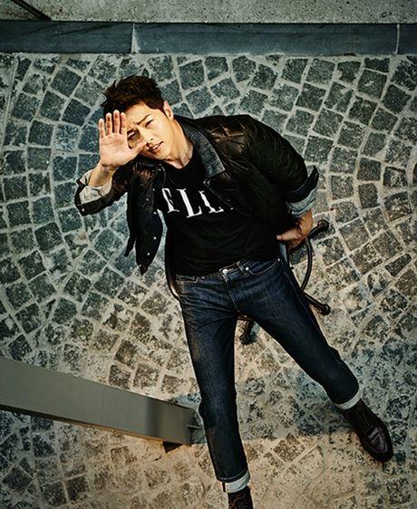 "Style dep den me man cua ""Big Boss"" Song Joong Ki - Anh 13"