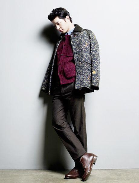 "Style dep den me man cua ""Big Boss"" Song Joong Ki - Anh 9"