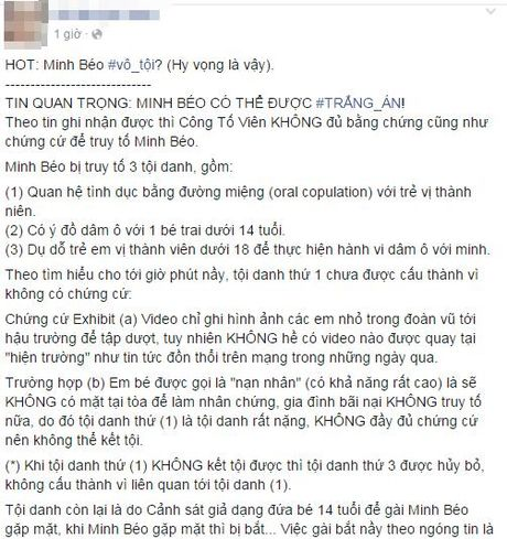 SOC: Cong to vien khong du bang chung buoc toi Minh Beo? - Anh 2