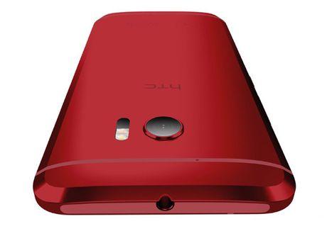 HTC 10 phien ban mau do lo dien - Anh 1