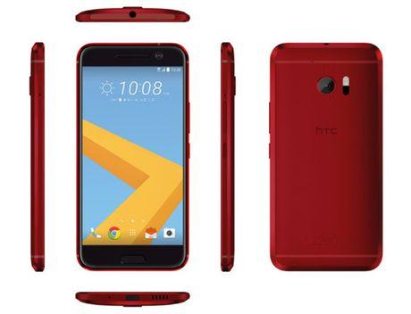 HTC 10 phien ban mau do lo dien - Anh 2
