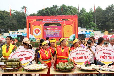 Tung bung 'Hoi thi goi banh chung banh giay 2016' - Anh 11