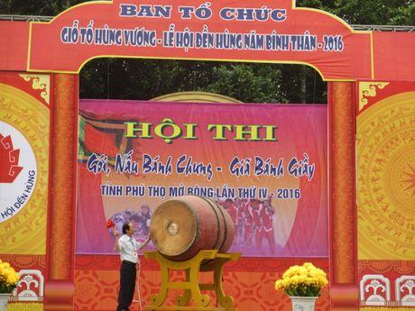 Tung bung 'Hoi thi goi banh chung banh giay 2016' - Anh 2