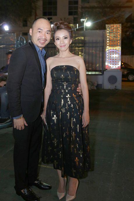 Tran Thanh - Hari Won tinh tu ben nhau trong le ra mat phim 'Benh vien ma' - Anh 5