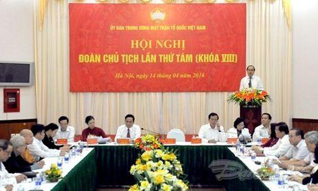 Ong Tran Thanh Man la Pho Chu tich- Tong Thu ky UBTU MTTQ Viet Nam - Anh 1