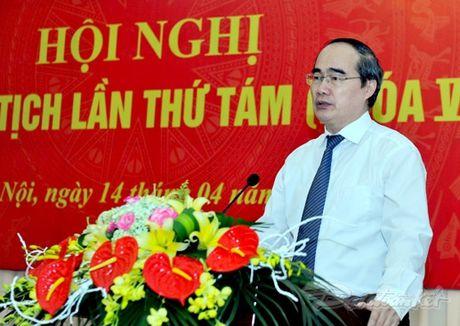 Ong Tran Thanh Man la Pho Chu tich- Tong Thu ky UBTU MTTQ Viet Nam - Anh 2