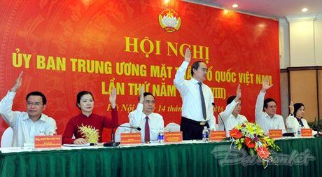 Ong Tran Thanh Man la Pho Chu tich- Tong Thu ky UBTU MTTQ Viet Nam - Anh 3