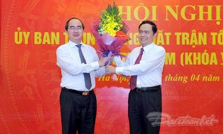 Ong Tran Thanh Man la Pho Chu tich- Tong Thu ky UBTU MTTQ Viet Nam - Anh 4