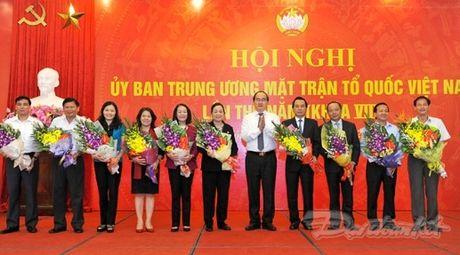 Ong Tran Thanh Man la Pho Chu tich- Tong Thu ky UBTU MTTQ Viet Nam - Anh 5
