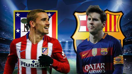 Cham diem Atletico Madrid - Barcelona: Messi te nhat - Anh 11