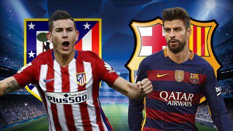Cham diem Atletico Madrid - Barcelona: Messi te nhat - Anh 4