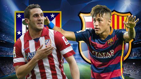 Cham diem Atletico Madrid - Barcelona: Messi te nhat - Anh 9