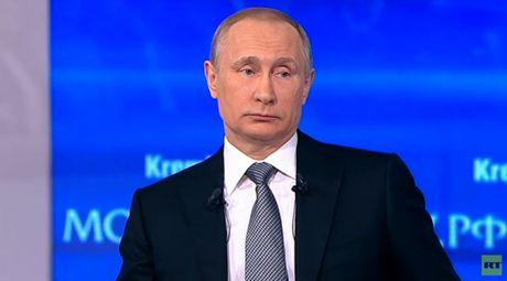 Be gai 12 tuoi hoi kho Tong thong Putin - Anh 1