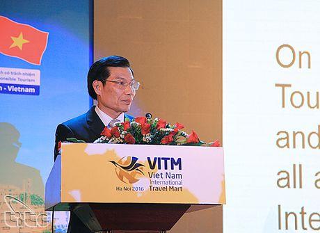 Khai mac Hoi cho Du lich quoc te Viet Nam - VITM Ha Noi 2016 - Anh 1