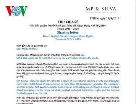"MP&Silva ""to nguoc"" VNPayTV: Dam phan ban quyen Ngoai hang Anh be tac? - Anh 1"