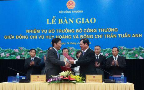 Ban giao nhiem vu Bo truong Bo Cong Thuong - Anh 1