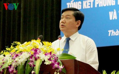 Bi thu Dinh La Thang: TPHCM khong chap nhan su tut hau - Anh 1
